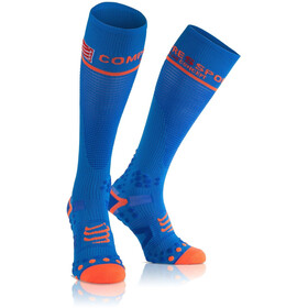 Compressport Full Socks V2.1 juoksusukat , sininen